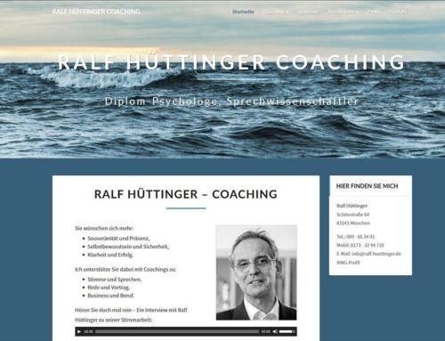 Ralf Hüttinger Coaching & Beratung