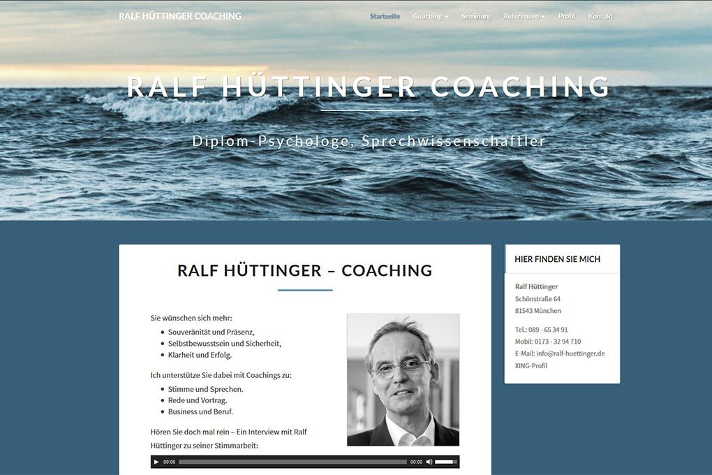 Ralf Hüttinger Coaching