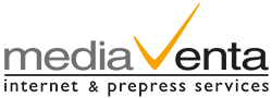 mediaventa internet & prepress services Logo